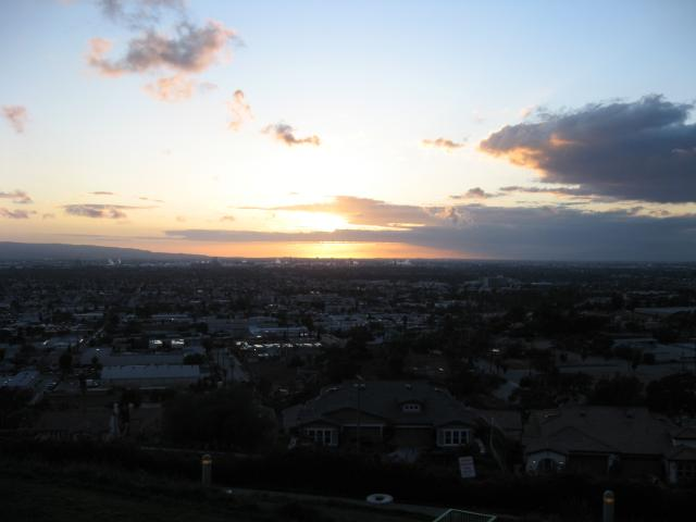 Sunset as seen from Signal Hill