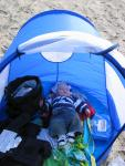 Chillin' in my very own baby tent